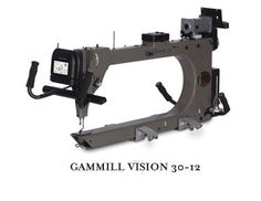 """Gammill Vision 30-12, Throat Space: 30"""" w x 12"""" h, Quilting Area: 24"""""""