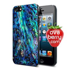 Abalone Shell Texture iPhone and Samsung Galaxy Phone Case
