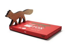 Wooden Fox (Natural) by Enormous Champion on BRIKA.com