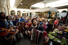 musicisti al mercato!