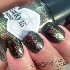 Lucky 13 Lacquer: Aurora Borealis | lacqueredgeek.com