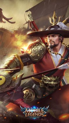 Mobile Legends Yi Sun-Shin Build e dicas Yi Sun Sin, Legend Games, Hd Phone Wallpapers, Iphone Wallpaper, Latest Wallpapers, Mobiles, Bang Bang, The Legend Of Heroes, League Of Legends