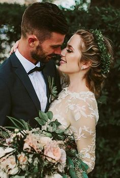 greenery wedding hair ideas brandon scott photography