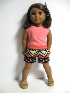 American Girl Doll Clothes Aztec Summer by 123MULBERRYSTREET, $25.00