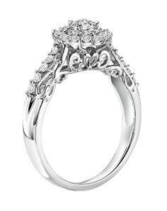 31-SA35086W-E by 31-SA35086W-E // More from 31-SA35086W-E: http://www.theknot.com/gallery/wedding-rings/simply-vera-vera-wang
