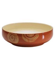 Denby Dinnerware, Fire Chilli Serving Bowl - Tan/Beige