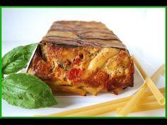 Pasta al Horno con Tomate Mozzarella y Berenjenas