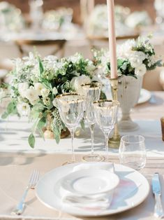 Planner: http://weddingsintuscany.info | Photography: http://www.etherandsmith.com | Florist: http://www.jardindivers.it | Wedding dress: http://www.yolancris.com | Read More: https://www.stylemepretty.com/vault/image/6695763