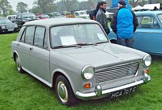 1967 Morris 1100 MKI 2-Door 1098cc 4-Cylinder FWD OHV Transverse Engine (Photo by R.Knight)