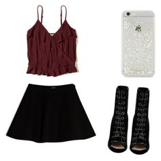 """""""Untitled #10"""" by angelxxmarie on Polyvore featuring Hollister Co., Max&Co., Barbara Bui and ban.do"""