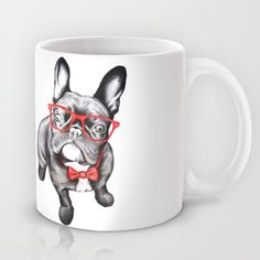 Buy Happy Dog by 13 Styx as a high quality Mug. Worldwide shipping available at Society6.com. Just one of millions of products available.