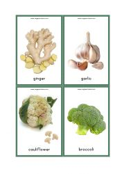 Looking for Flashcards to teach vegetable names to your child (Preschool/Kindergarten)? Check our Free Printable Flashcards for Vegetables With Pictures. Free Printable Alphabet Letters, Free Printable Flash Cards, Free Printables, Garlic Broccoli, Broccoli Cauliflower, Vegetables Names With Pictures, Rain Crafts, Vegetable Chart, Vegetable Drawing