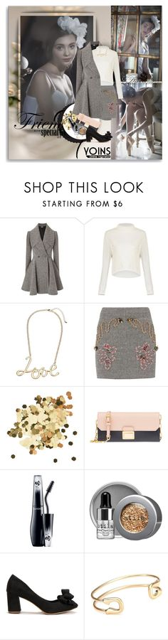 """""""YOINS - Foggy Morning"""" by shinee-pearly ❤ liked on Polyvore featuring Alexander McQueen, STELLA McCARTNEY, Topshop, Miu Miu, Lancôme, Stila and yoins"""