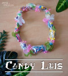 Moana Party_DIY Candy Leis