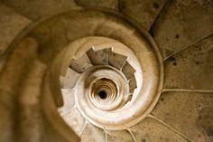 Si no tienes vértigo, es toda una experiencia subir a las torres de la Sagrada Familia.  If you are not afraid of heights, it is an amazing experience going up to the towers of the Sagrada Familia.