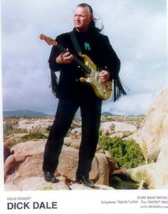 "Dick Dale the ""King of the Surf Guitar"" - amazing!"