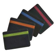 af7658481 Mens Fashion Faux Leather Magic Credit Card ID Money Clip Slim Wallet  Holder DX #fashion