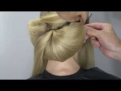 Arabic style, wedding, bridal hairstyle by Farrukh Shamuratov - YouTube
