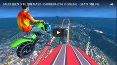 SALTA BIEN O TE QUEMAS CARRERA GTA V ONLINE - #GTA5 ONLINE