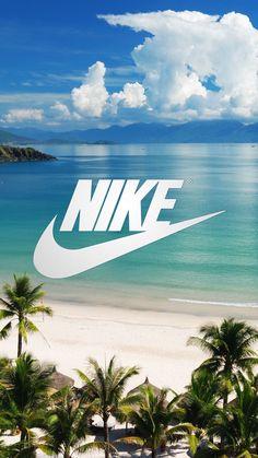 Nike wallpaper Beach