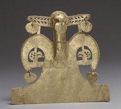 Bird Pendant [Colombia; Muisca] (1979.206.509) | Heilbrunn Timeline of Art History | The Metropolitan Museum of Art