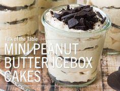 Good Taste - Mini Peanut Butter Icebox Cakes Twin Cities food...