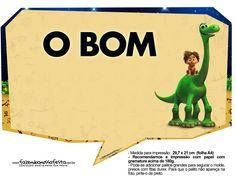 Plaquinhas O Bom Dinossauro 3