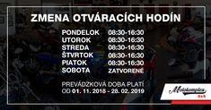 Pozor! Nové otváracie hodín počas zimnej sezóny v Motokomplex 4x4 Nasa, 4x4, Pandora