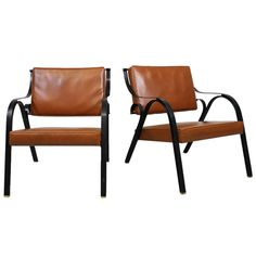 A Pair of Arm Chairs 'P36' by Carlo de Carli, Tecno Italy 1957 | 1stdibs.com