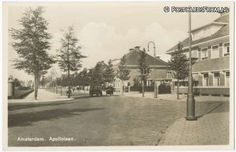 1946. The Apollolaan is a street in Amsterdam South. The street begins on the east side in the extension of the Churchill-laan and the Muzenplein and ends on the west side at the Olympiaplein, where the laan turns into the Olympiaweg. The Apollolaan is one of the few real avenues in Amsterdam. There are some statues on the Apollolaan dedicated to World War II remembrance. At the Beethovenstraat 29 people were shot on 24 October 1944 by the German occupier. #amsterdam #1946 #apollolaan