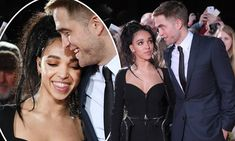 Robert Pattinson and his fiancee FKA Twigs made a rare red carpet appearance on Thursday night, to promote the actor's new film The Lost City of Z.