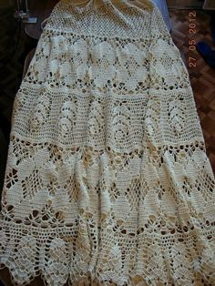 ergahandmade: Long crochet skirt + Diagrams