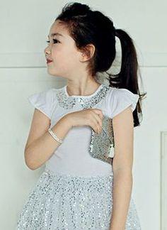 annikaシャリエンブラウス - 韓国子供服tsubomi かわいい輸入服のセレクトショップ