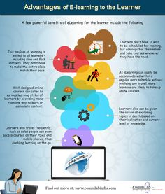 How Does #Elearning Benefit the Learner? - An Infographic