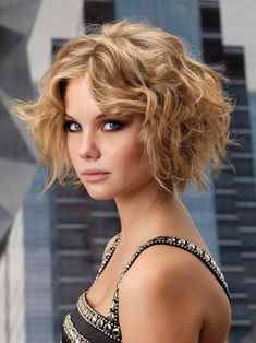 10.Best Short Haircuts for Curly Hair 2015