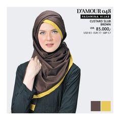 Pashmina Hijab Tatuis - D'Amour 048
