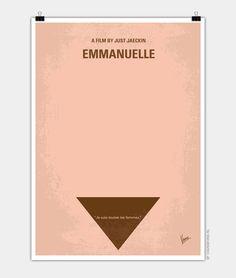 My Emmanuelle minimal movie poster