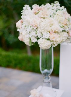 #Centerpiece | See the wedding on #SMP Weddings: http://www.stylemepretty.com/2012/12/28/la-wedding-from-fresh-events-company-esther-sun-photography/ Esther Sun Photography