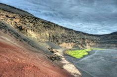 Lago Verde de Lanzarote (Charco de los Ciclos)