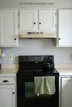 Range Hood MakeoverRange Hood Makeover - temporary solution until we install the new one