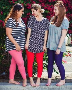 """7698cab05553e2 LuLaRoe on Instagram: """"Try oversizing the Classic T or Perfect T with your  favorite pair of solid leggings, you'll love it!! #lularoeclassict #LuLaRoe"""""""