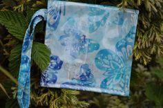 Blue Morpho Mermaid Pouch Waterproof by saltydesignsalaska on Etsy, $24.00