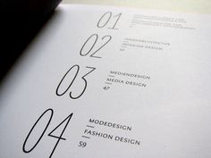 ABSCHLUSSKATALOG 2011 by Britta Siegmund, via Behance