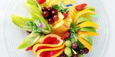 Карвинг из фруктов: фруктовая нарезка на праздничный стол – фото идеи