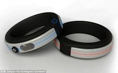 A wearable gym? Discreet armband uses the power of MAGNETS to provide the same workout as a 24kg dumbbell