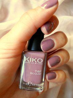 Sélection vernis Kiko pour l'automne