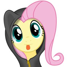 Fluttershy being cute [with Hoody] by Infinitoa.deviantart.com on @deviantART