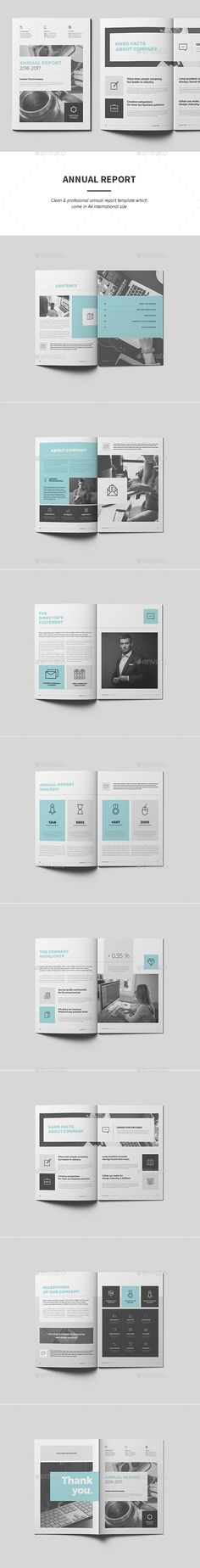 Annual Report Word Words, Brochures and Annual reports - annual report template word