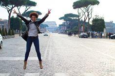 Carolina Sellés en en Coliseo de Roma.http://www.chictrends.es/es/carolina-selles-rincones-que-inspiran/