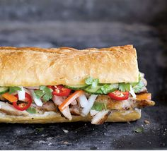 Hanoi Grilled Chicken Banh Mi from The Banh Mi Handbook, Andrea Nguyen.